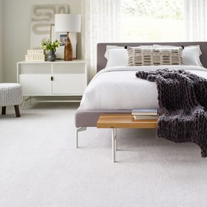 White carpet flooring | The Flooring Place