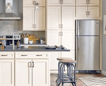 Kitchen cabinets and countertop | The Flooring Place