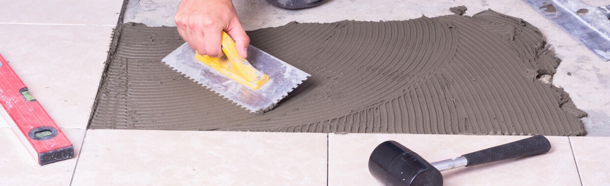 Tile installation | The Flooring Place