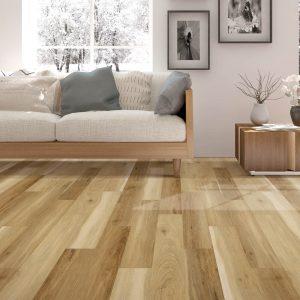 laminate flooring in living room | The Flooring Place