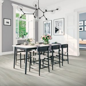 laminate flooring in modern dining area | The Flooring Place