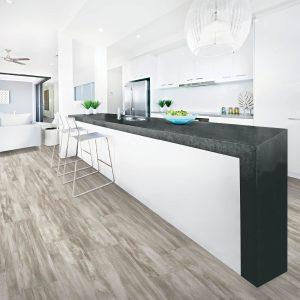 laminate flooring in modern kitchen | The Flooring Place