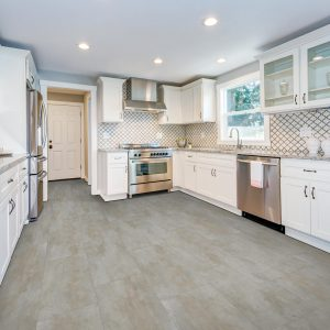 laminate flooring in kitchen | The Flooring Place