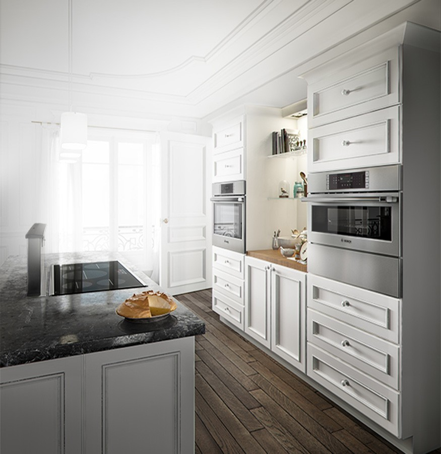 Kitchen white cabinets | The Flooring Place