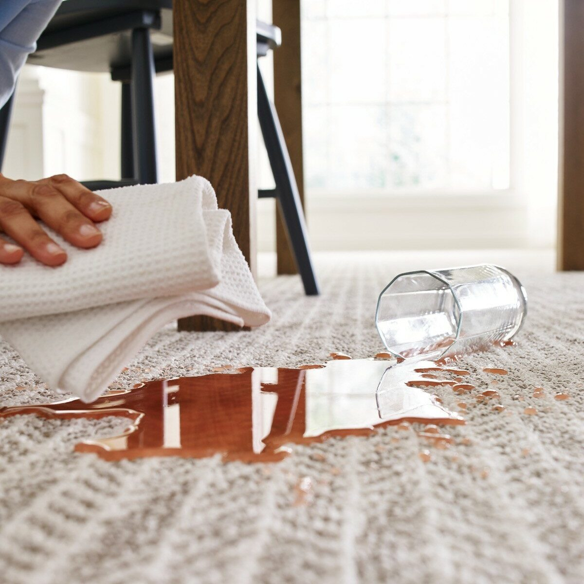 Spill cleaning tips | The Flooring Place