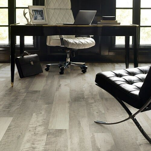 Pier park office laminate flooring | The Flooring Place